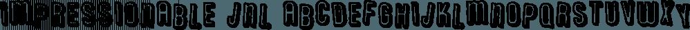 Impressionable JNL font family by Jeff Levine Fonts