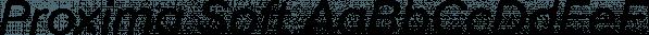 Proxima Soft font family by Mark Simonson Studio
