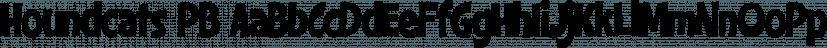 Houndcats PB font family by Pink Broccoli