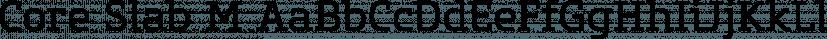 Core Slab M font family by S-Core