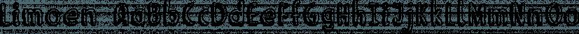 Limoen font family by Hanoded