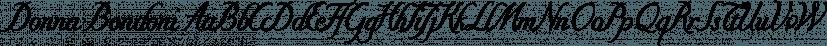 Donna Bondoni font family by Wiescher-Design