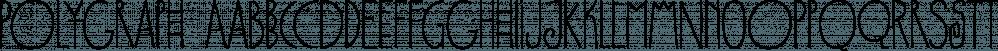 Polygraph font family by PintassilgoPrints