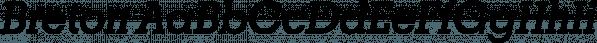 Breton font family by Latinotype