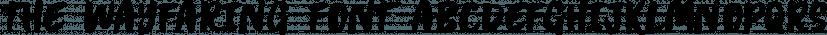 The Wayfaring Font font family by Set Sail Studios