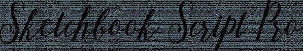 Sketchbook Script Pro font family by Anastasia Dimitriadi