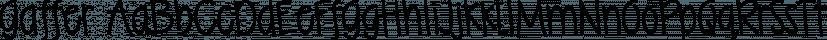 Gaffer font family by Typadelic