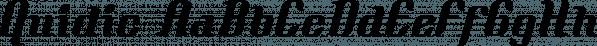 Quidic font family by Ingrimayne Type