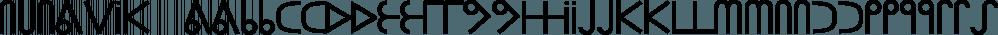 Nunavik™ font family by MINDCANDY
