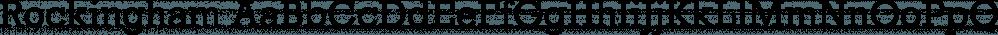 Rockingham font family by FontSite Inc.