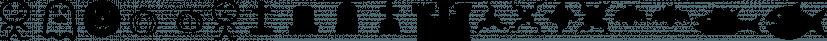 XMattsAnimals font family by Ingrimayne Type
