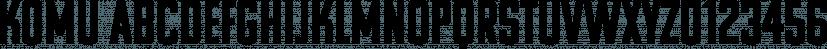Komu font family by DizajnDesign