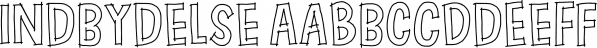 Indbydelse font family by Pizzadude.dk