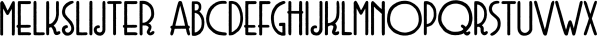 Melkslijter font family by PintassilgoPrints