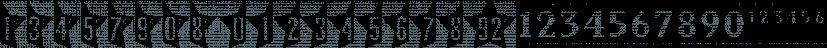 Vintage Price Tags JNL font family by Jeff Levine Fonts