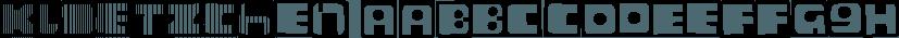 Kloetzchen font family by Typo Graphic Design