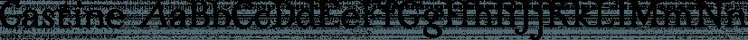 Castine font family by Three Islands Press