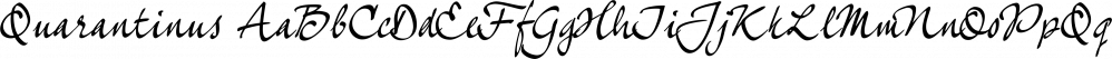 Quarantinus font family by JOEBOB Graphics