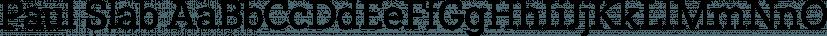 Paul Slab font family by Artill Typs