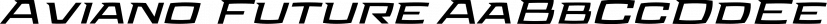 Aviano Future font family by Insigne Design