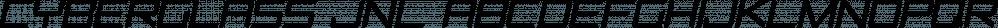 Cyberglass JNL font family by Jeff Levine Fonts
