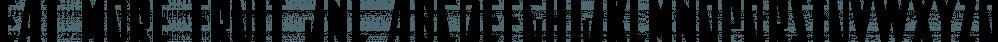 Eat More Fruit JNL font family by Jeff Levine Fonts