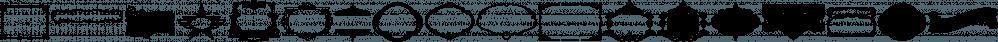 LHF Classic Panels 2 font family by Letterhead Fonts