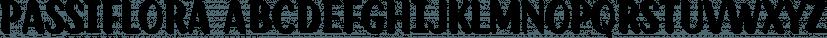 Passiflora font family by Compañía Tipográfica De Chile