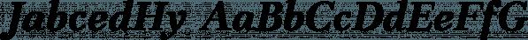 JabcedHy font family by Ingrimayne Type