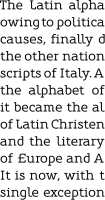 Oblik Serif 10pt paragraph