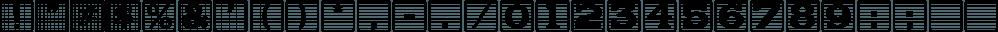 Kiddie Blokz JNL font family by Jeff Levine Fonts