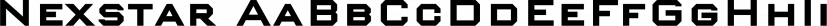 Nexstar font family by Wiescher-Design