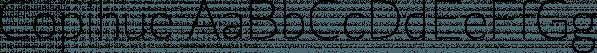 Copihue font family by Letritas