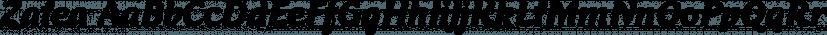 Zalea font family by Eurotypo