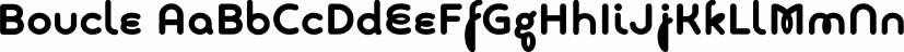 Boucle font family by TipografiaRamis