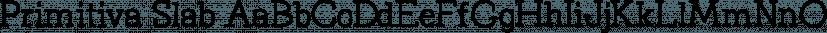Primitiva Slab font family by Pixip Icons
