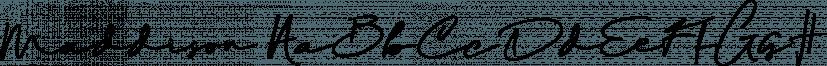 Maddison font family by madeDeduk