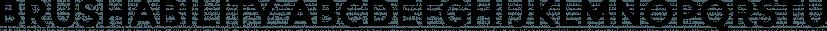 Brushability font family by My Creative Land