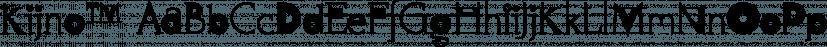 Kijno™ font family by MINDCANDY