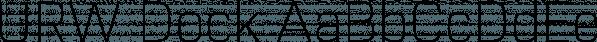 URW Dock font family by URW Type Foundry