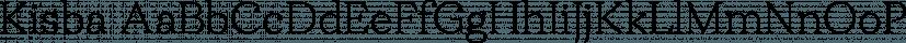 Kisba font family by Identity Letters