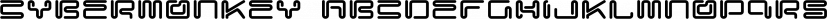 CyberMonkey font family by Fonthead Design
