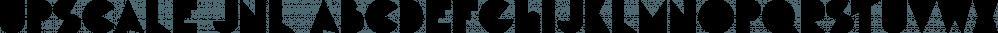 Upscale JNL font family by Jeff Levine Fonts