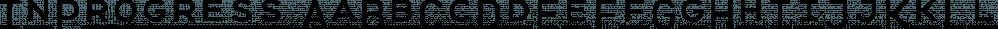 InProgress font family by BAT Foundry