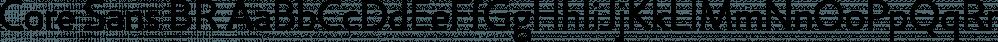 Core Sans BR font family by S-Core