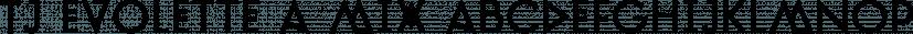 TJ Evolette A Mix font family by TypeMates
