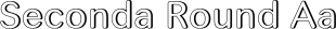 Seconda Round font family mini