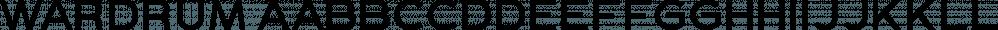 WARDRUM font family by Letterhend Studio
