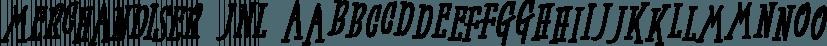 Merchandiser JNL font family by Jeff Levine Fonts