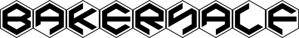 BakerHalf font family by Ingrimayne Type